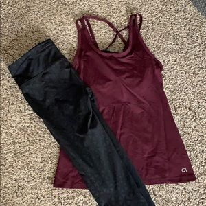 Gap work out outfit